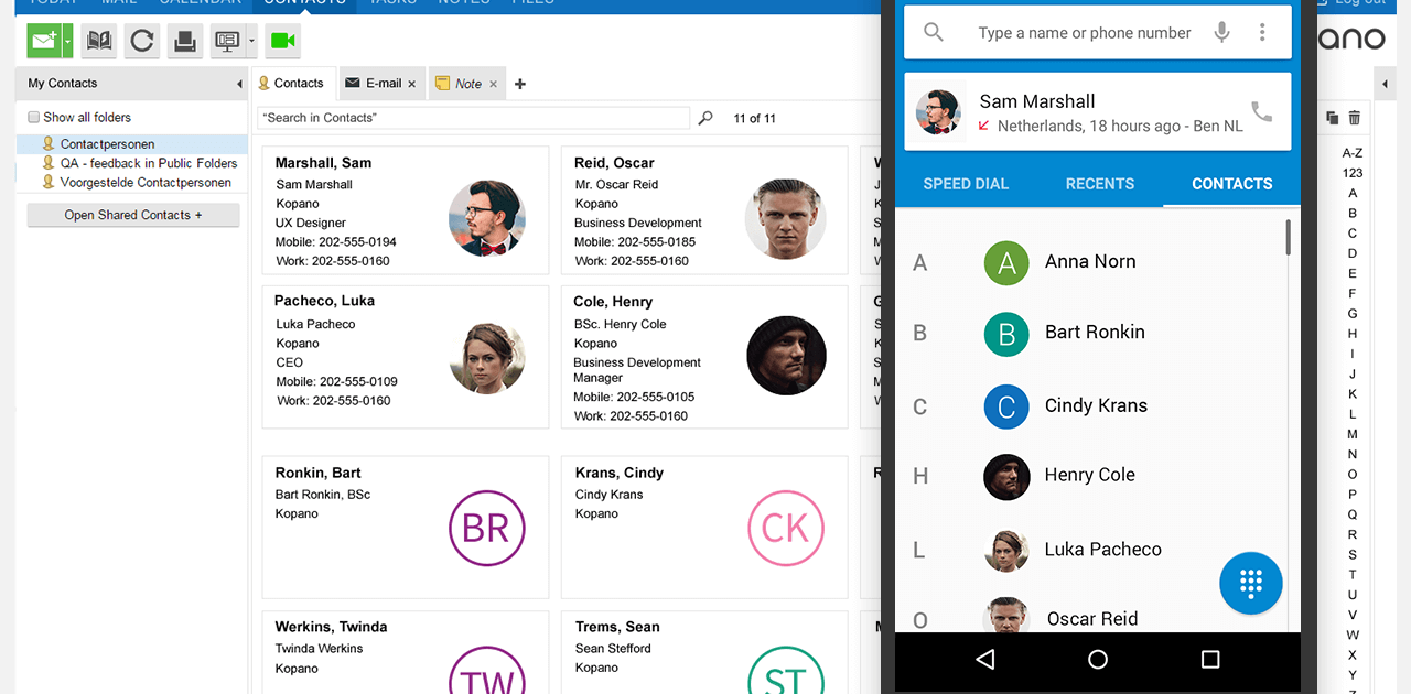 Kopano E-Mail & Groupware